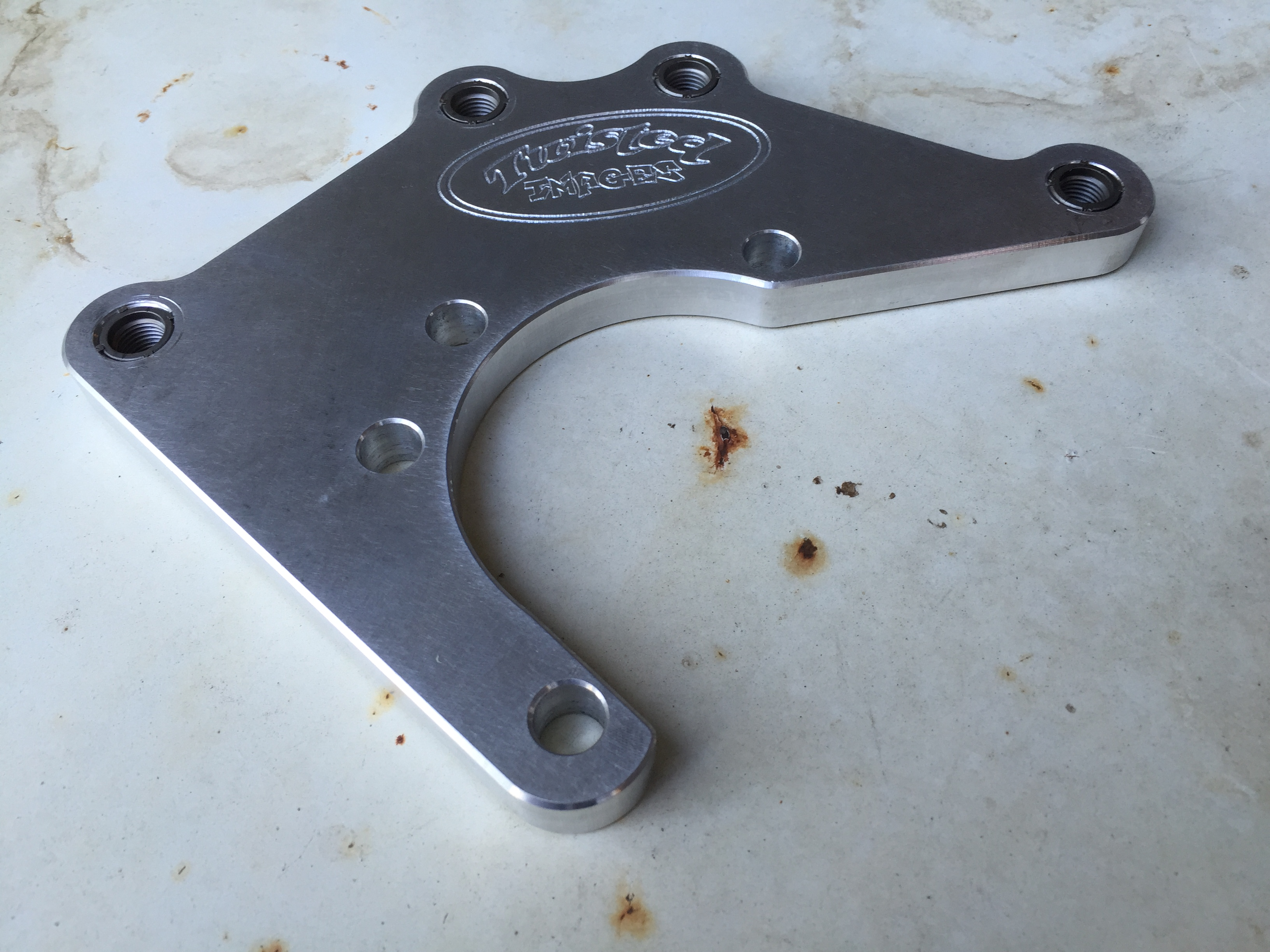Twisted Images Rear Disc Brake Brackets - 68-73 Datsun 510 - pair