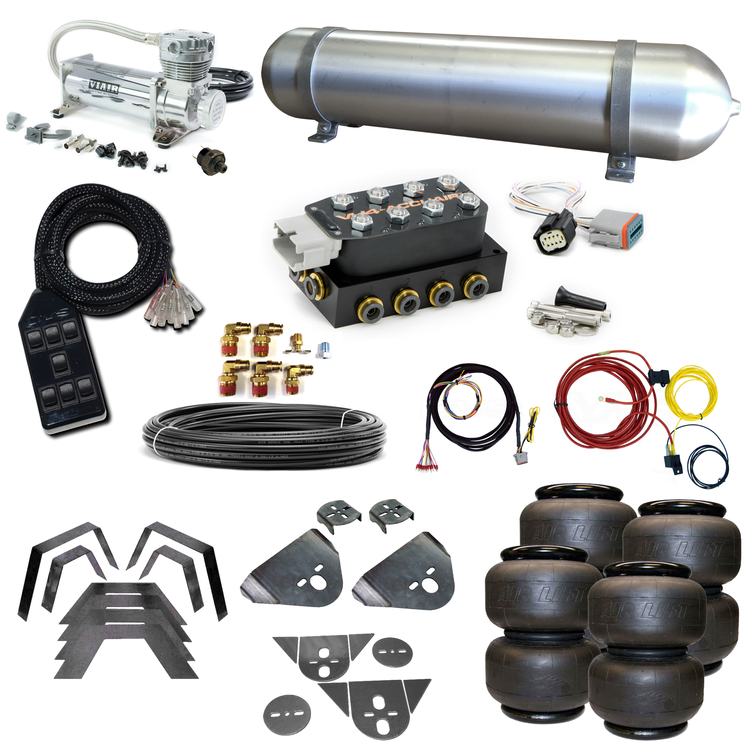 Stage 2 Air Suspension System- 80-86 720