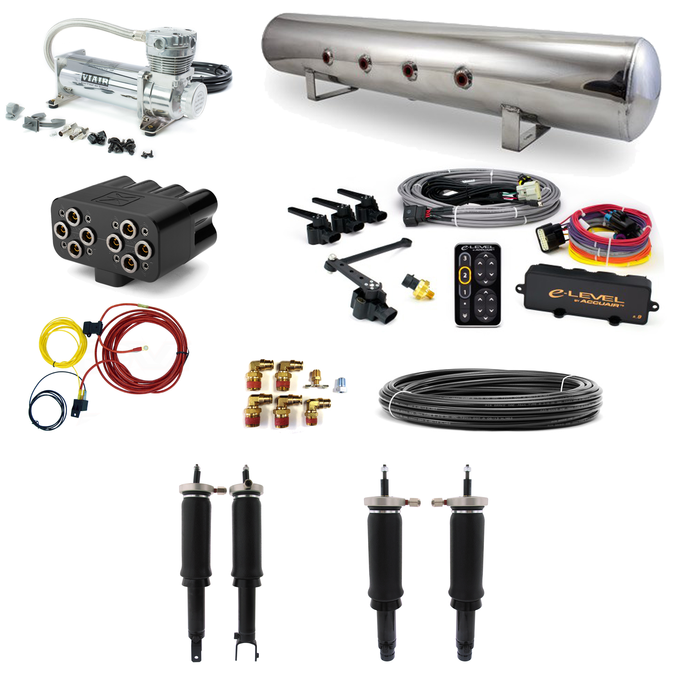 Accuair Stage 3 Air Suspension System 94 01 Acura Integra 92 00 Complete Wiring Diagram Home Systems Honda Civic 87 91