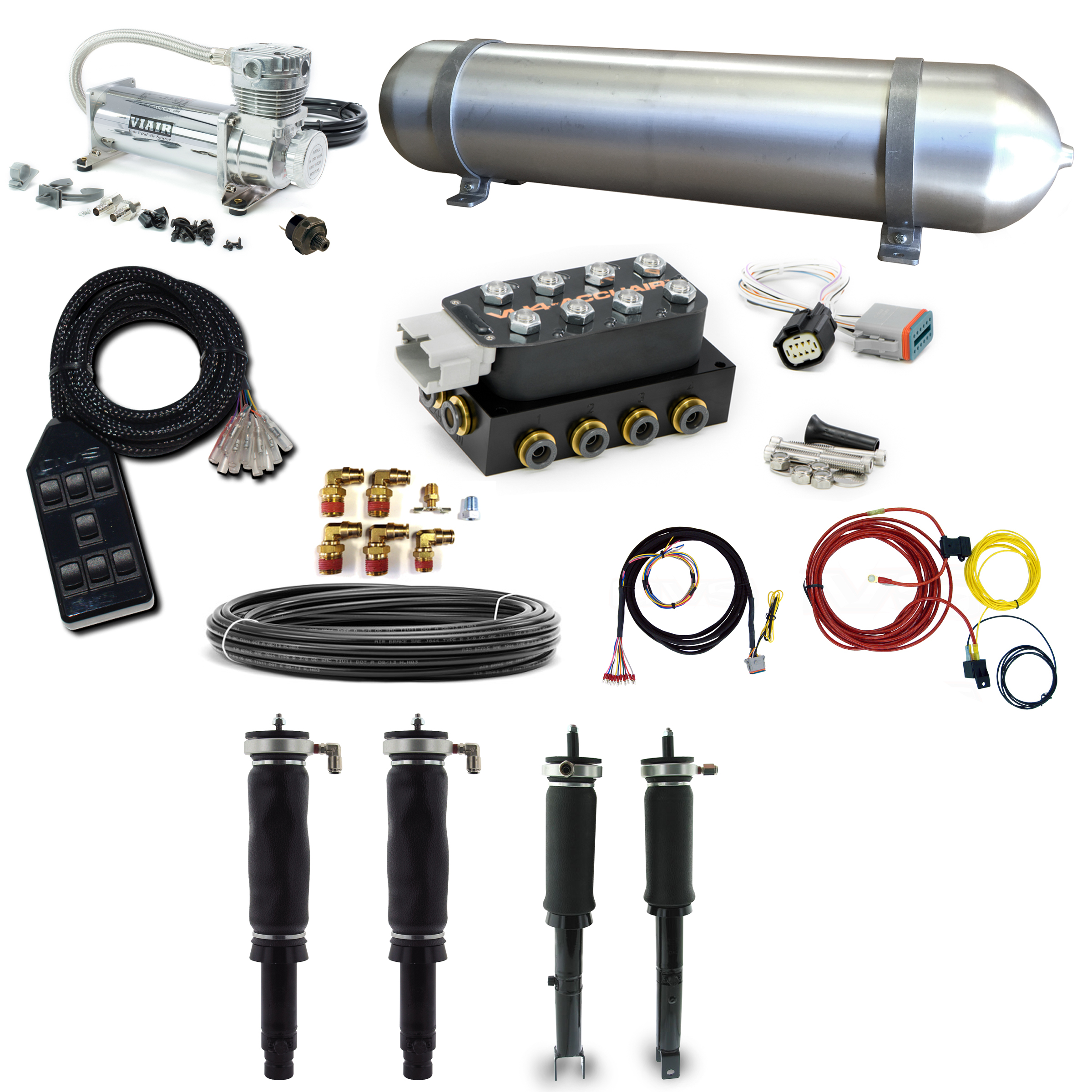 KIT 608 2 stage 2 air suspension system 92 01 honda prelude accuair vu4 wiring diagram at alyssarenee.co