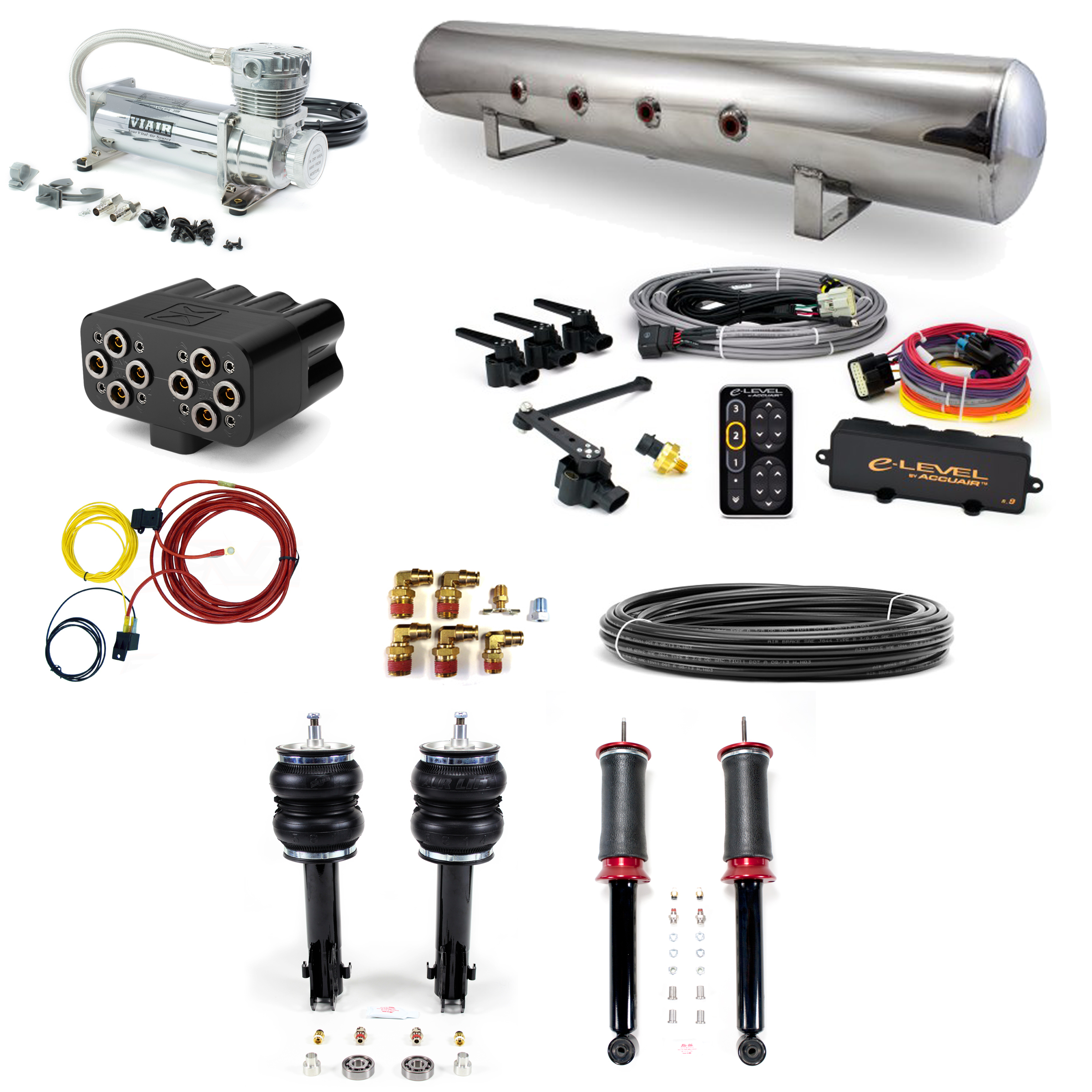 platform > accuair stage 3 air suspension system - mkii-iii platform:  85-96 vw corrado, 85-98 vw golf, 85-98 vw jetta, 90-97 vw passat, 95-03 vw  cabrio