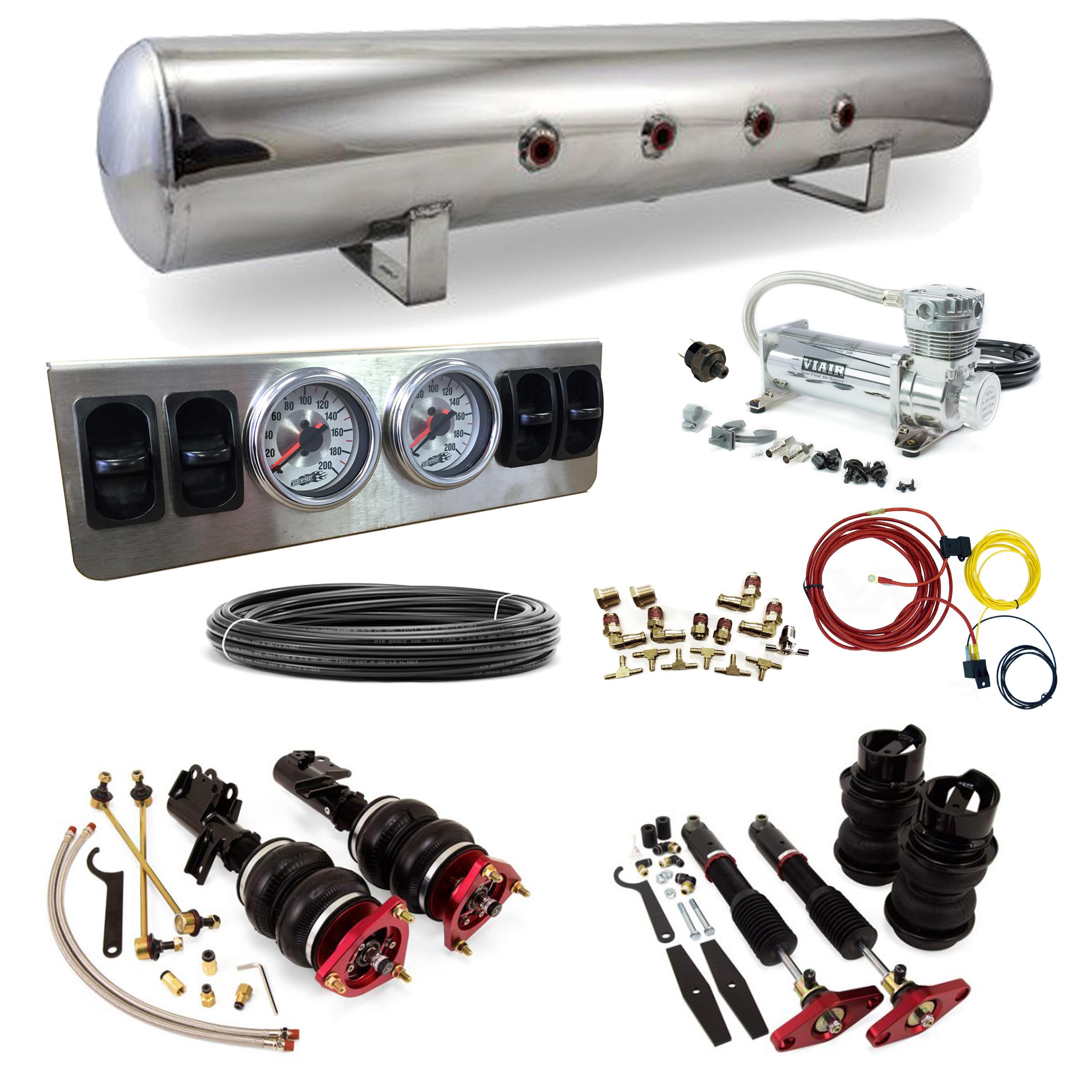 Stage 1 Air Suspension System 09 16 Hyundai Genesis Coupe Viair 480c Wiring Diagram Shaved Door Handle Kits