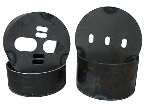 Front Airbag Brackets - Universal Cup-Style - set