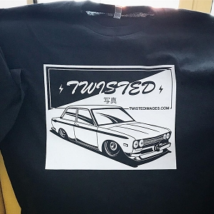 Twisted Images T-Shirt - Datsun 510