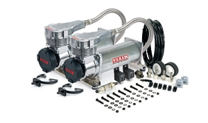 Viair 485C Dual Pack - Platinum Finish