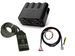 Accuair VX4 Manifold and AVS 7 Switch Box Combo Pack