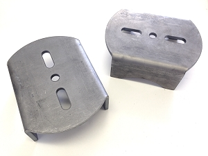 Lower Over-axle Airbag Brackets - pair