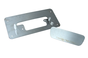 2004-10 Chev. Colorado Tailgate Handle Relocator Kit- With Filler Plate