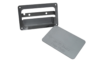 88-95 Isuzu p/u Tailgate Handle Relocator Kit- With Filler Plate