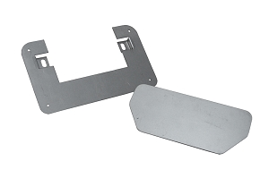 86.5-00 Nissan p/u Tailgate Handle Relocator Kit- With Filler Plate