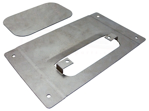 89-95 Toyota p/u Tailgate Handle Relocator Kit- With Filler Plate