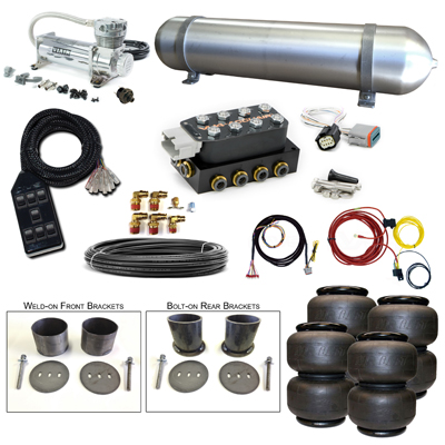Stage 2 Air Suspension System- 63-65 Buick Riviera