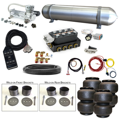 Stage 2 Air Suspension System- 58-70 Cadillac