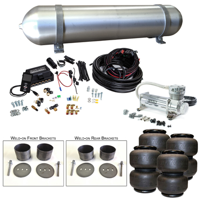 Stage 3 Air Suspension System with Air Lift Management- 58-70 Cadillac