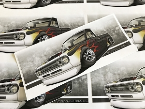 Twisted Images Sticker - Datsun 521 Slap