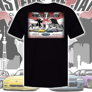 Monsters of Japan Show Shirt