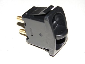 "Paddle valve switch with 1/4"" barb fittings."