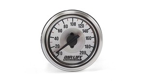 Air Lift Dual Needle Pressure Gauge