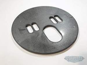 Upper Airbag Mounting Plate - .188 Steel