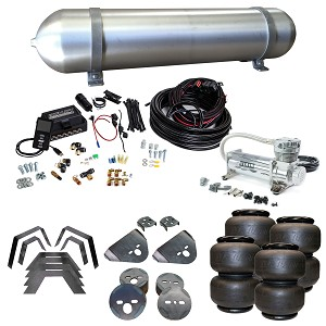 Stage 3 Air Suspension System with Air Lift Management- 97-04 Dodge Dakota