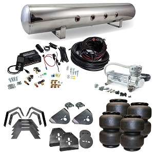 Stage 3 Air Suspension System with Air Lift Management- 73-87 C10