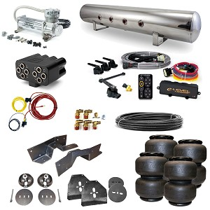 Stage 3 Air Suspension System with Accuair eLevel Management- 63-72 C10