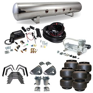 Stage 3 Air Suspension System with Air Lift Management- 07-12 Silverado