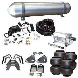 Stage 3 Air Suspension System with Air Lift Management- 83-97 Ranger