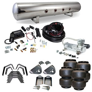Stage 3 Air Suspension System with Air Lift Management- 95-03 Tacoma
