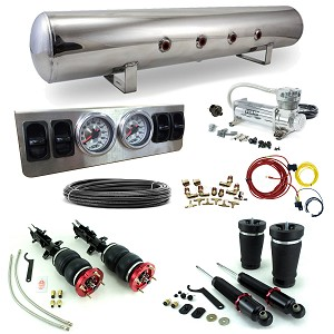 Stage 1 Air Suspension System- 05-14 Ford Mustang S197 Platform - (Base, GT, Convertible, GT500)