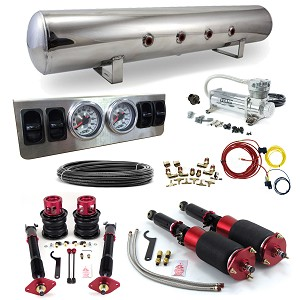 Stage 1 Air Suspension System- 15-17 Ford Mustang S550 Fastback/Convertible