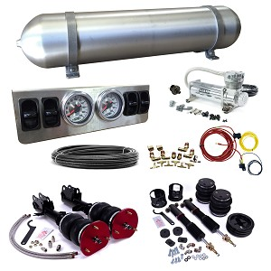 Stage 1 Air Suspension System- 13-17 Ford Fusion, 13-17  Ford Mondeo (worldwide), 13-17 Lincoln MKZ, all models, including AWD (CD4 Platform)