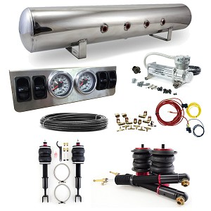 Stage 1 Air Suspension System- C5 Platform:  A6 Quattro 97-04, S6 Quattro 01-03 , RS6 Quattro 02-04, Allroad Quattro 99-05 (Does not fit models w/ factory air suspension)