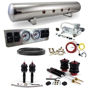 Stage 1 Air Suspension System- C6 Platform: 04-11 A6 Quattro & FWD, RS6, S6, 06-11 Allroad