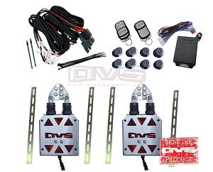 AVS Shaved Door Kit - With Remote Control System & Wiring Harness