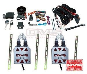AVS Shaved Door Kit - With Alarm System & Wiring Harness