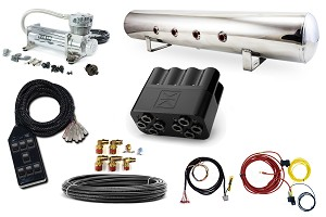 Stage 2 - Accuair Electric 4 Path Air Management Package