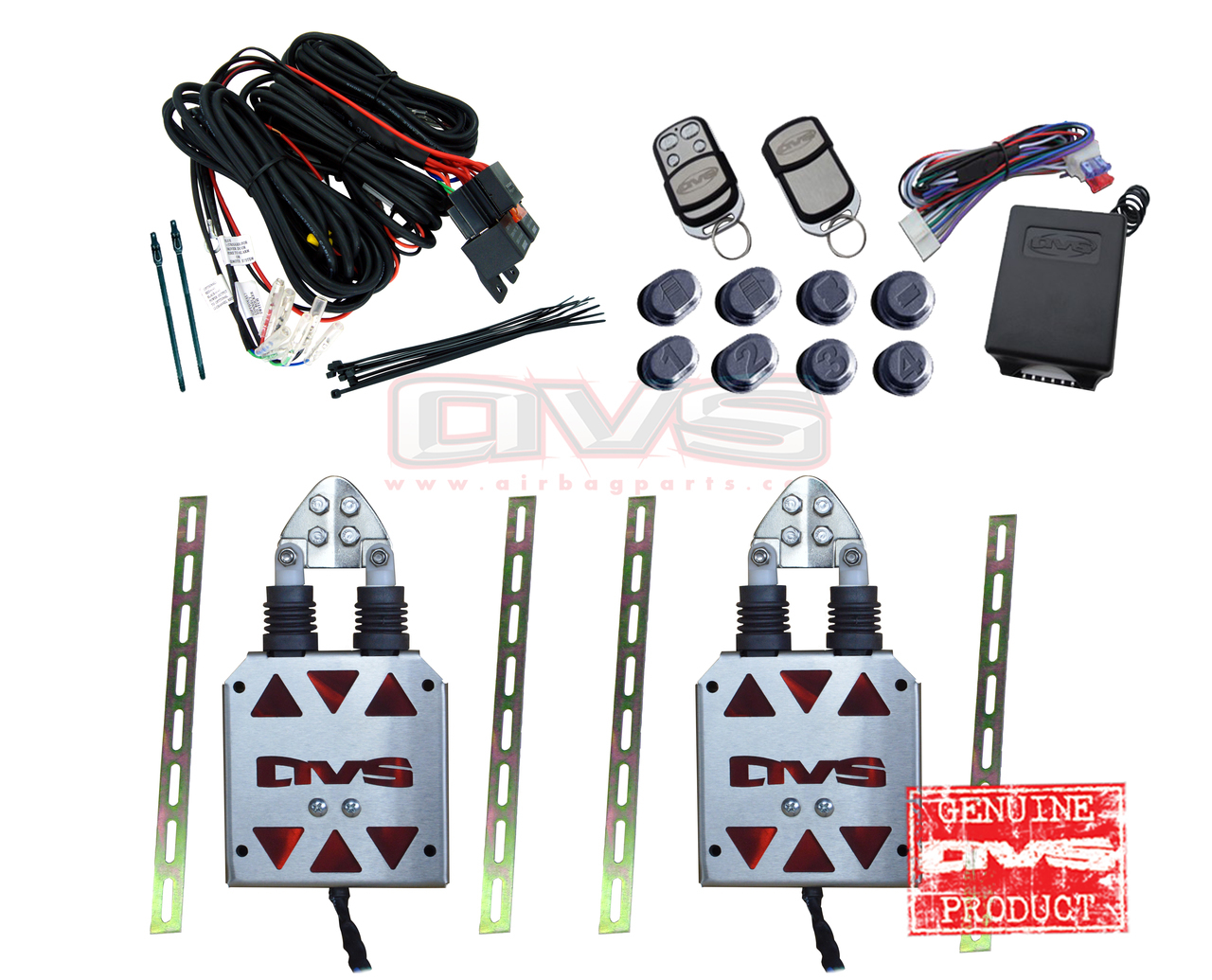 Avs Shaved Door Kit With Remote Control System Wiring Harness Home Handle Kits