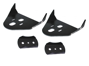 Rear Airbag Brackets - Over Axle - Set