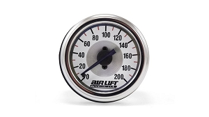 Air Lift Single Needle Pressure Gauge