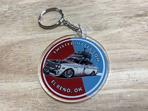 Twisted Images Keychain - Datsun 510 2