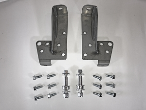 Front Shock Relocation Kit - 58-64 Impala