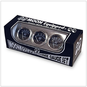 Moon Equipped 3 Gauge Set