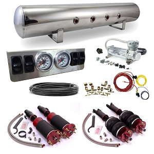 Stage 1 Air Suspension System- 08-12 Honda Accord, 09-14 Acura TL, 09-14 Acura TSX