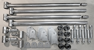 Universal Weld-in Triangulated 4 Link Kit