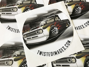 Twisted Images Sticker - Datsun 521 4